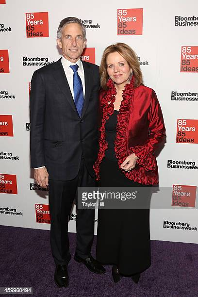 Lawyer Tim Jessell and opera singer Renee Fleming attend the Bloomberg Businessweek 85th Anniversary Celebration at the American Museum of Natural...