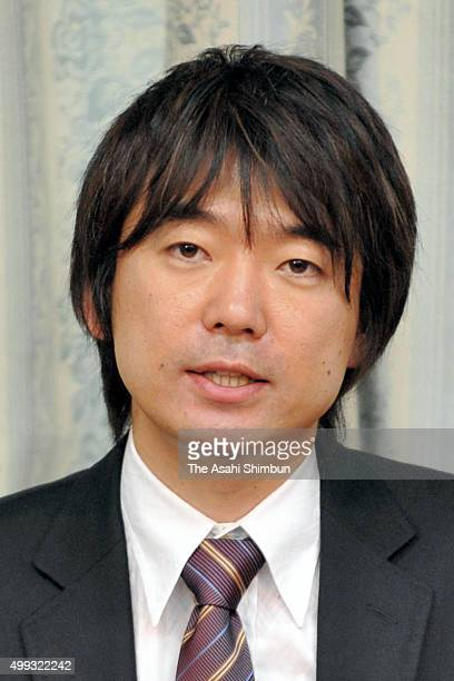 Lawyer Toru Hashimoto speaks during a press conference announcing his run for the Osaka Prefecture Governor at Osaka Prefecture headquarters on...