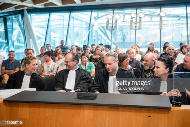 Lawyer Walter Daemen pictured during the jury composition for the assize trial of Jonny VDB before the Assize Court of Antwerp province, in Antwerp,...