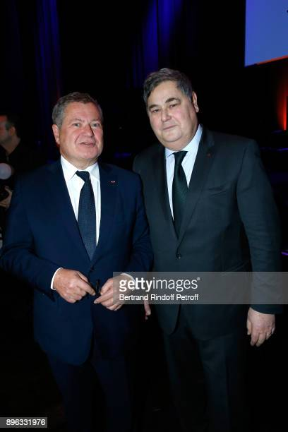 Lawyers Jean Veil and his brother PierreFrancois Veil attend the Gala evening of the PasteurWeizmann Council in Tribute to Simone Veil at Salle...