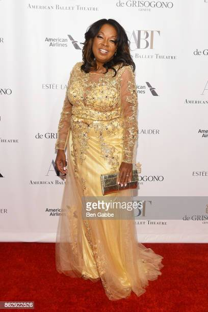 Lawyer/TV personality Star Jones attends the American Ballet Theatre Fall Gala at David H Koch Theater at Lincoln Center on October 18 2017 in New...