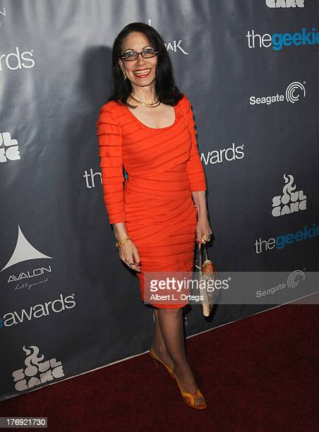 Lawyer/TV personality Vicki Roberts attends The 1st Annual Geekie Awards Arrivals held at Avalon on August 18 2013 in Hollywood California