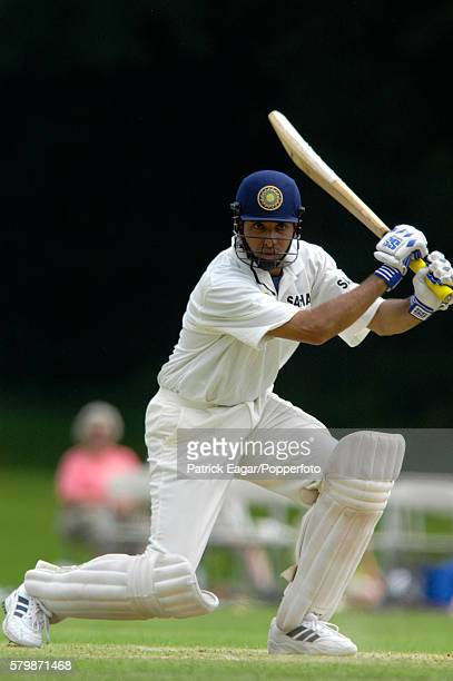 VVS Laxman batting for India the tour match between India and West indies A at Arundel England 16th July 2002