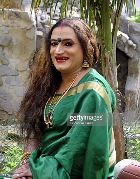 Laxmi Narayan Tripathi transgender rights activist Hindi film actress and Bharatanatyam dancer during an exclusive interview with BrunchHindustan...