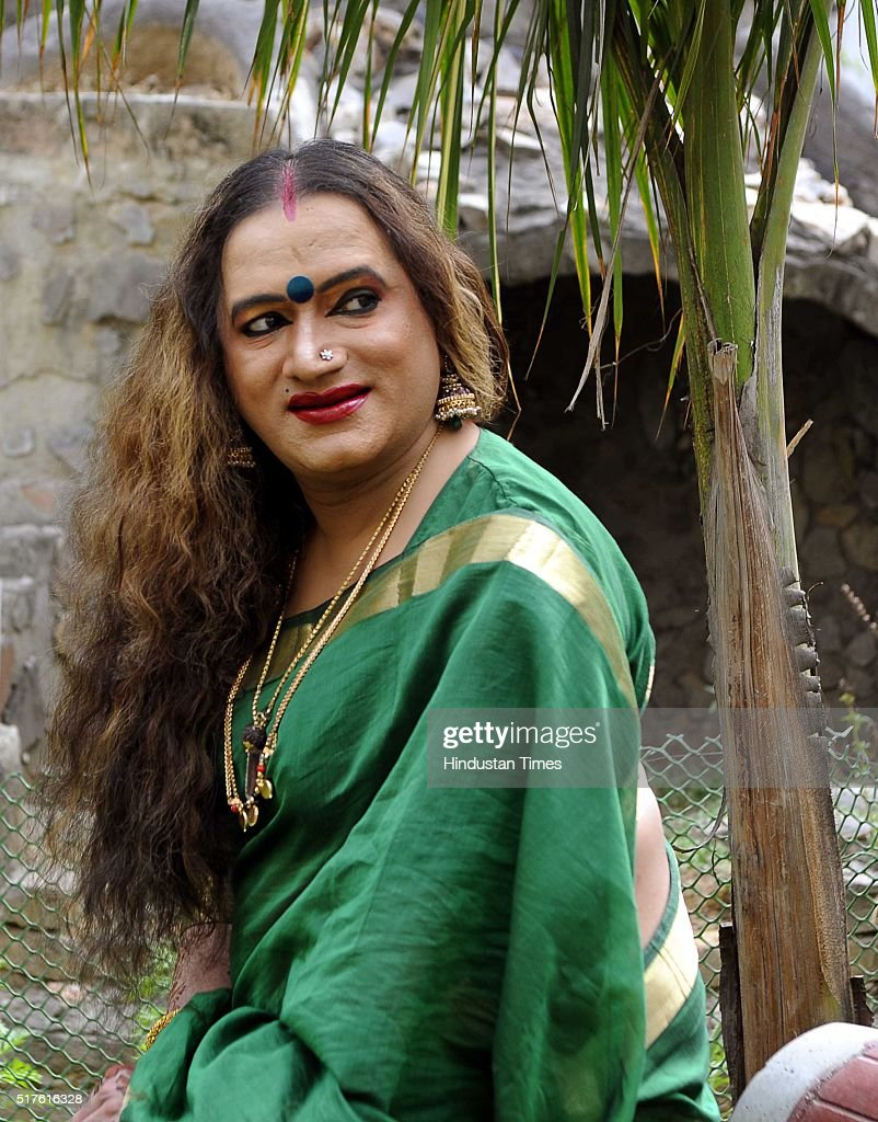 HT Brunch Exclusive: Profile Shoot Of Transgender Laxmi Narayan Tripathi : News Photo