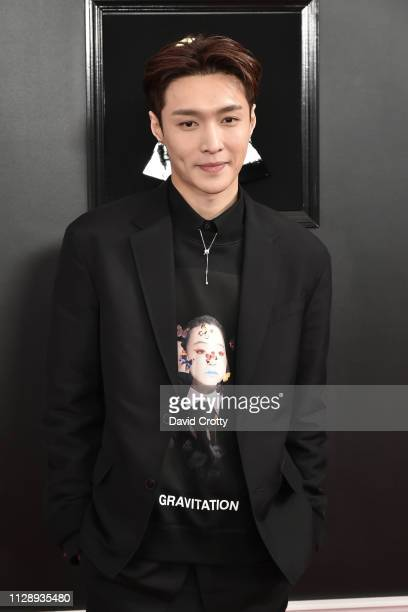 Lay Zhang attends the 61st Annual Grammy Awards at Staples Center on February 10 2019 in Los Angeles California