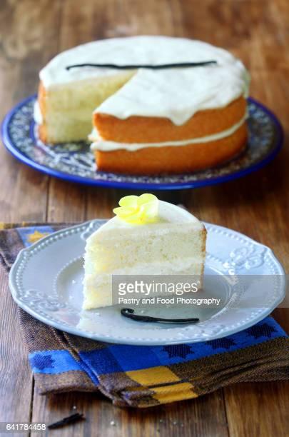 Layered Vanilla Sponge Cake