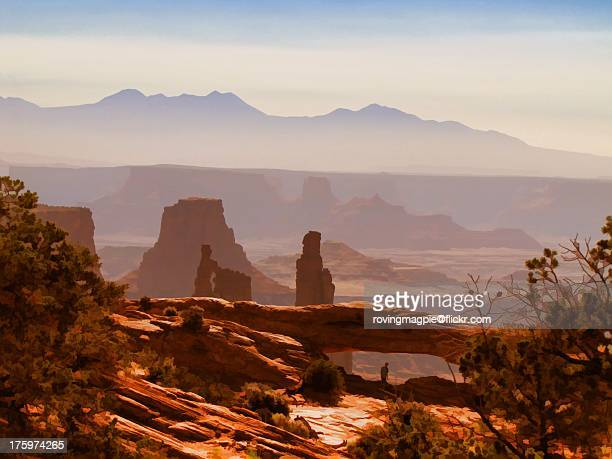 layers and levels - moab utah stock photos and pictures