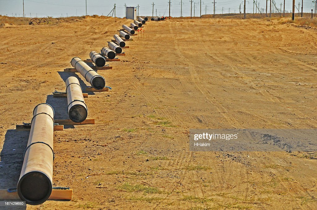 Que estabelece pipeline : Foto de stock