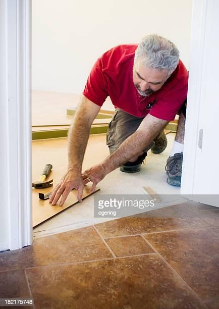 laying laminate - laminate flooring stock pictures, royalty-free photos & images