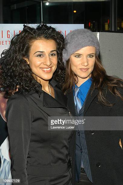 Layla Alizada and Juliette Lewis during Court TV Hosts Premiere of Chasing Freedom at Loews Lincoln Sq in New York City New York United States