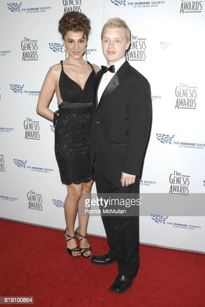 Layla Alizada and Noel Fisher attend The 24th Genesis Awards at Beverly Hilton Hotel on March 20 2010 in Beverly Hills California
