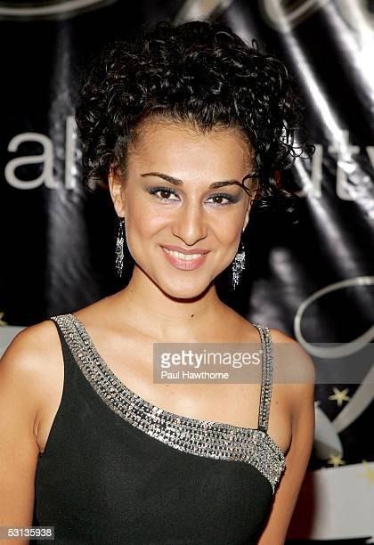Layla Alizada arrives at the 30th Annual Gracie Allen Awards Gala at the New York Marriott Marquis on June 22 2005 in New York City