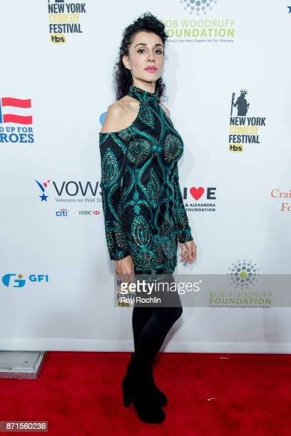 Layla Alizada attends the 11th Annual Stand Up for Heroes at The Theater at Madison Square Garden on November 7 2017 in New York City
