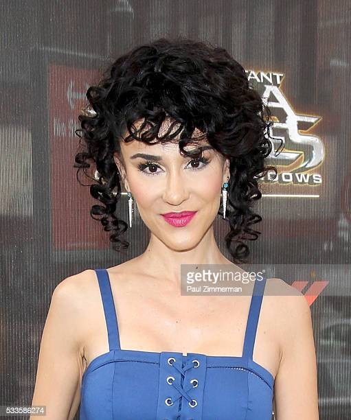 Layla Alizada attends the Teenage Mutant Ninja Turtles Out Of The Shadows world premiere at Madison Square Garden on May 22 2016 in New York City