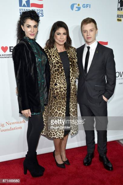 Layla Alizada Caroline Hirsch and Noel Fisher attend the 11th Annual Stand Up for Heroes Event presented by The New York Comedy Festival and The Bob...