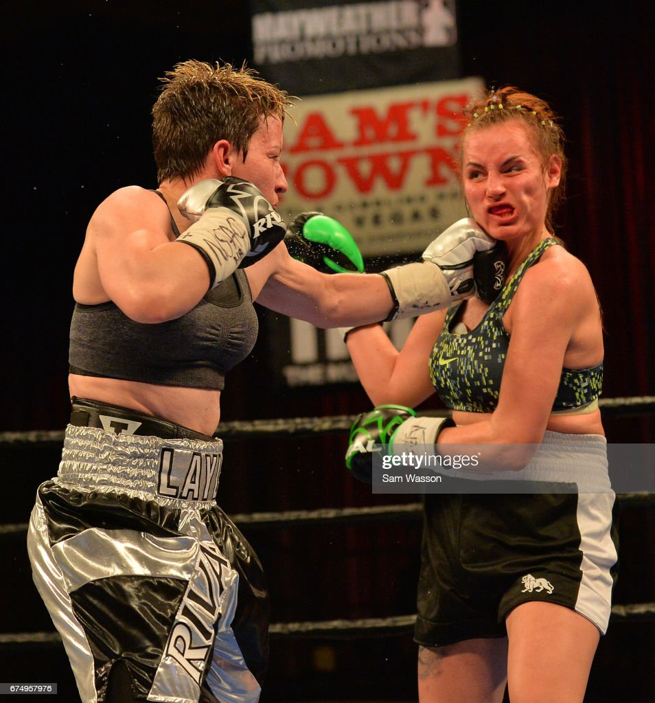 Layla McCarter v Szilvia Szabados : News Photo