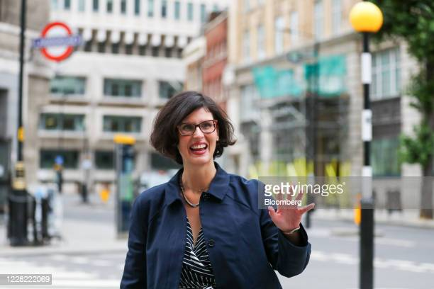 Layla Moran, leadership candidate for the Liberal Democrats, arrives ahead of a news conference to announce the new leader of the opposition party in...