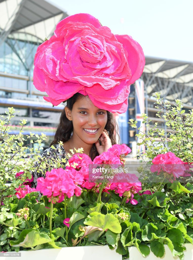 Layla Romic attends Royal Ascot 2017 at Ascot Racecourse on June 20, 2017 in Ascot, England.