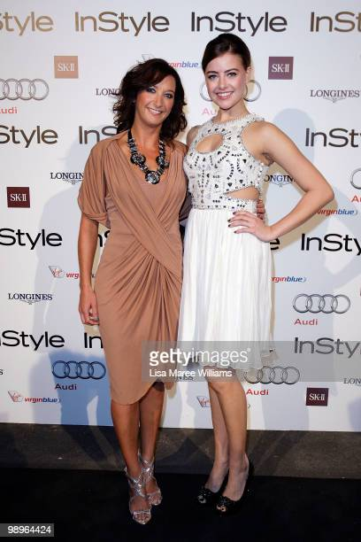 Layne Beachley and April Rose Pengilly attend the InStyle and Audi Women of Style Awards at Australian Technology Park on May 11 2010 in Sydney...