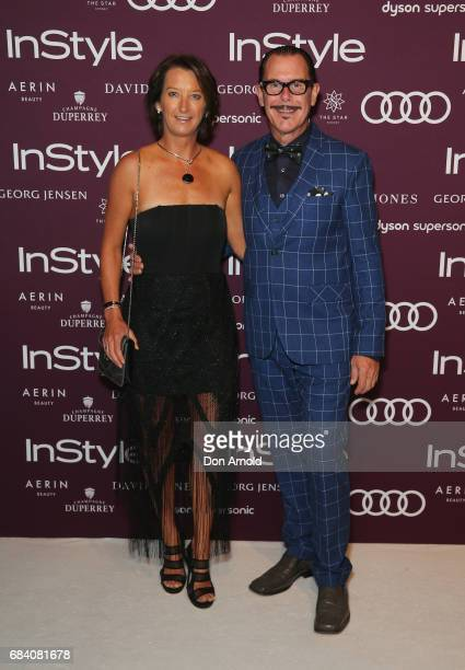 Layne Beachley and Kirk Pengilly arrive ahead of the Women of Style Awards at The Star on May 17 2017 in Sydney Australia