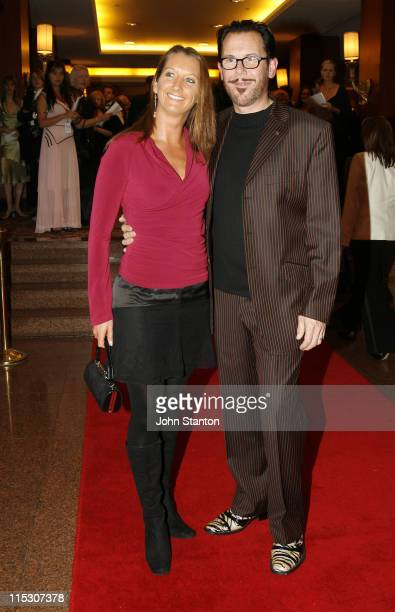 Layne Beachley and Kirk Pengilly of Inxs during Australian Childrens Music Foundation's 'Music for Children Ball' July 15 2006 at Four Seasons Hotel...