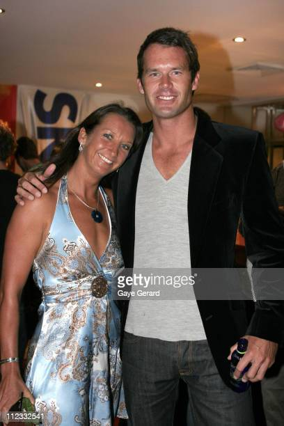 Layne Beachley and Tom Williams during Oakley Women's Collection Launch with Layne Beachley in Sydney NSW Australia