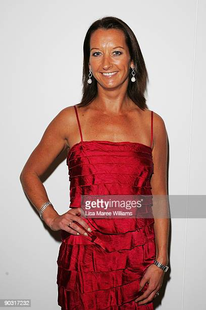 Layne Beachley arrives at the Sports Charity Ball at Sydney Convention Exhibition Centre on September 3 2009 in Sydney Australia