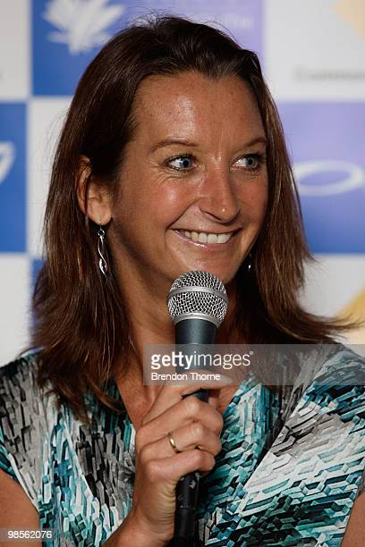 Layne Beachley attends the Beachley Classic press launch on April 20 2010 in Sydney Australia
