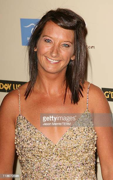 Layne Beachley during 2007 Australia Week Gala Arrivals in Los Angeles California United States