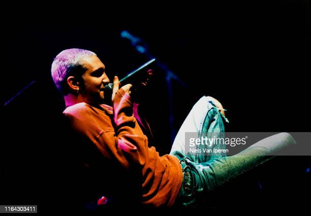 Layne Staley Alice In Chains performing on stage Ahoy Rotterdam Netherlands 17th October 1993