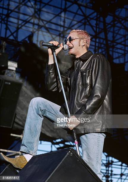 Layne Staley of Alice In Chains performing at Lollapalooza in Portland Oregon on June 20 1993