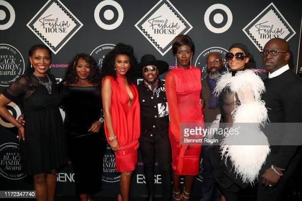 Laysha Ward Bevy Smith Moana Luu Anthony Hamilton Bozoma Saint John Richelieu Dennis and Omar Salam attend the ESSENCE Best In Black Fashion Awards...