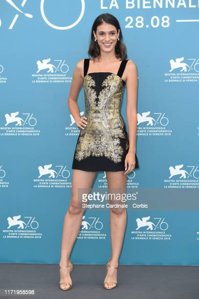 """Laysla De Oliveira attends """"Guest of Honour"""" photocall during the 76th Venice Film Festival on September 03, 2019 in Venice, Italy."""