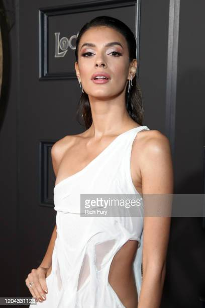 """Laysla De Oliveira attends Netflix's """"Locke & Key"""" series premiere photo call at the Egyptian Theatre on February 05, 2020 in Hollywood, California."""