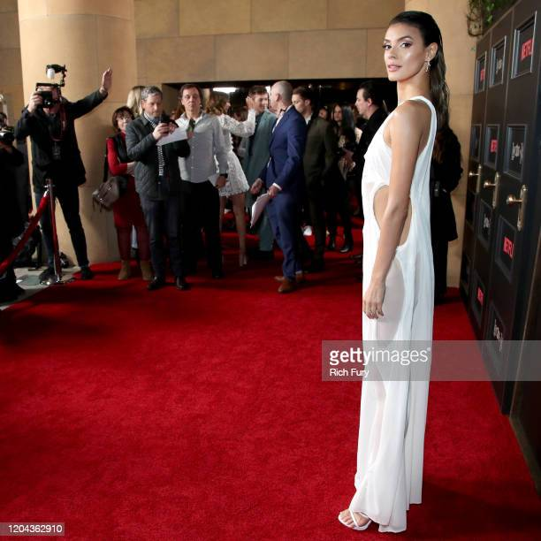 Laysla De Oliveira attends Netflix's Locke Key series premiere photo call at the Egyptian Theatre on February 05 2020 in Hollywood California