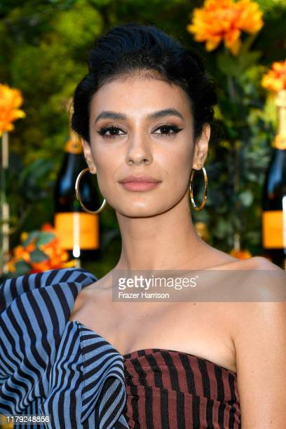 Laysla De Oliveira attends the 10th Annual Veuve Clicquot Polo Classic Los Angeles at Will Rogers State Historic Park on October 05 2019 in Pacific...