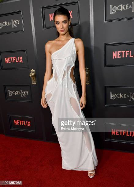 """Laysla De Oliveira attends the """"Locke & Key"""" Los Angeles Premiere at the Egyptian Theatre on February 05, 2020 in Hollywood, California."""