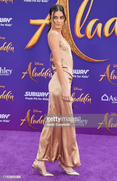 Laysla De Oliveira attends the premiere of Disney's Aladdin on May 21 2019 in Los Angeles California