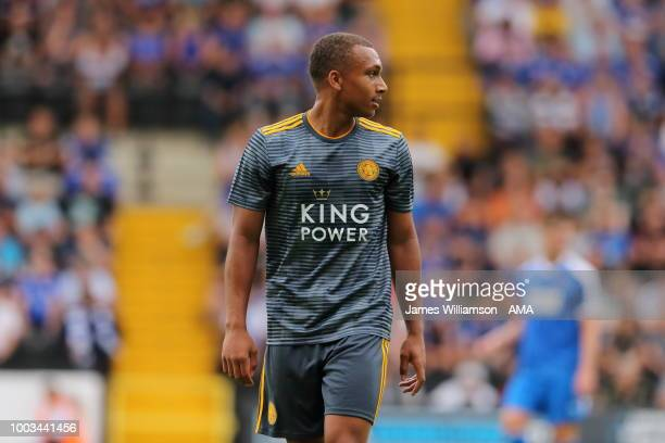 Layton Ndukwu of Leicester City during the preseason match between Notts County and Leicester City at Meadow Lane on July 21 2018 in Nottingham...