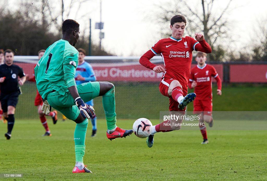 Liverpool U23 v West Ham United U23: Premier League 2 : News Photo