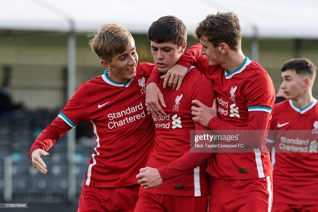 Liverpool v Newcastle United - U18 Premier League : ニュース写真