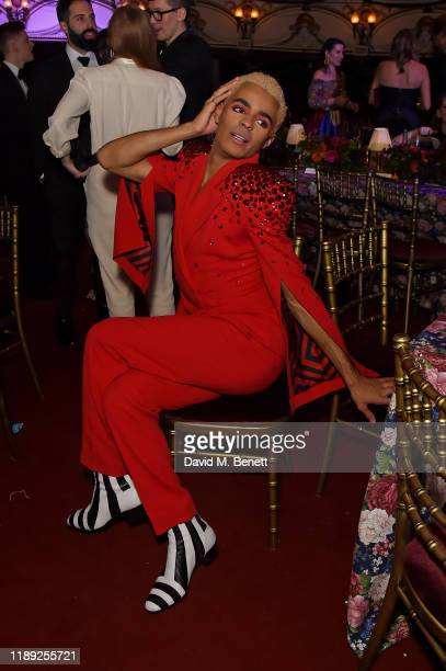 Layton Williams attends the after party of the 65th Evening Standard Theatre Awards In Association With Michael Kors at London Coliseum on November...