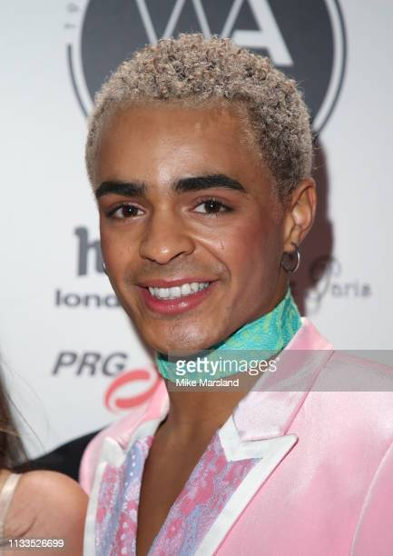 Layton Williams attends the WhatsOnStage Awards at Prince Of Wales Theatre on March 03 2019 in London England