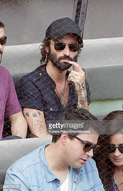 Layva attends Mutua Madrid Open at La Caja Magica on May 10, 2014 in Madrid, Spain.