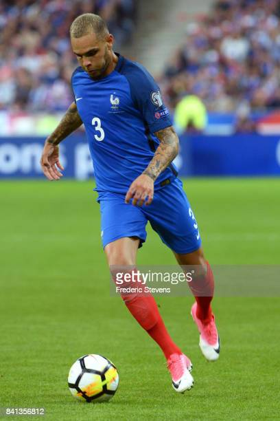 Layvin Kurzawa defender of France Football team duringthe FIFA 2018 World Cup Qualifier between France and Nederlands at Stade de France on August 31...