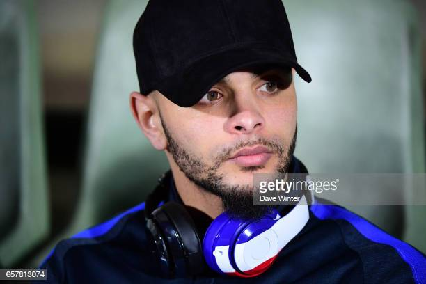 Layvin Kurzawa of France before the FIFA World Cup 2018 qualifying match between Luxembourg and France on March 25 2017 in Luxembourg Luxembourg
