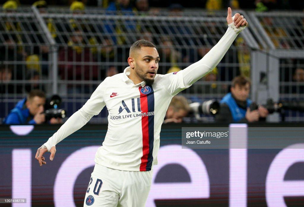 Borussia Dortmund v Paris Saint-Germain - UEFA Champions League Round of 16: First Leg : News Photo