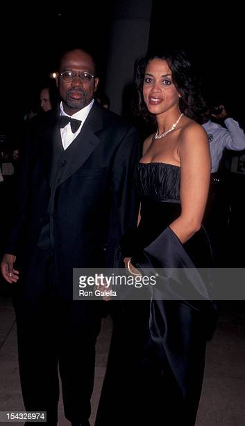 Laywer Christopher Darden and date attenidng 12th Annual Carousel of Hope Ball Benefit on October 25 1996 at the Beverly Hilton Hotel in Beverly...