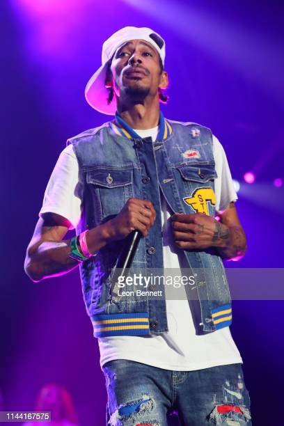 Layzie Bone of Bone ThugsNHarmony performs during 935 KDAY Presents 2019 Krush Groove Concert at The Forum on April 20 2019 in Inglewood California
